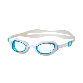 speedo Aquapure Goggles Damen white/blue